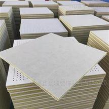 豪瑞岩棉硅酸钙穿孔复合吸音板5公分